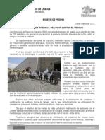 28/03/12 Germán Tenorio Vasconcelos inicia Jornada Intensiva de Lucha Contra El Dengue