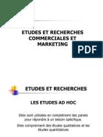 Etudes Et Recherches Marketing