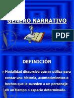Genero Narrativo Clase 3
