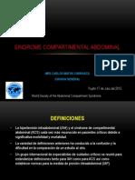 SINDROME COMPARTIMENTAL ABDOMINAL.pptx