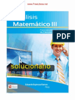 Solucionario Analisis Matematico III