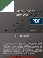 SEGURIDAD RIESGOS QU+ìMICOS