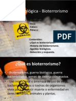 Guerra biológica - Bioterrorismo
