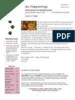 jim shetter november 2012 newsletter