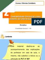 2 - Contabilidade Gerencial como sistema de informação Contabil