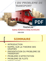 Gestion Du Probleme de Transport
