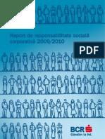 Raport Bcr Csr Ro 2009 2010