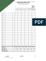 Estimation Form