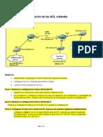Tarea Configuración y verificación de las ACL estándar