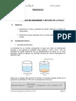 5 Metodo Arquimedes y Fiola