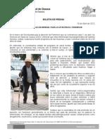 10/04/12 Germán Tenorio Vasconcelos CONMEMORA SSO DÍA MUNDIAL PARA LA ATENCIÓN DEL PARKINSON
