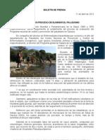 11/04/12 Germán Tenorio Vasconcelos Oaxaca en Proceso de Eliminar El Paludismo