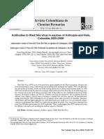 19 Antibodies to West Nile Virus in Equinesv23n4a07