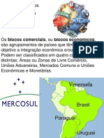 Blocos Economicos Da America Do Sul