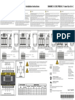 SINAMICS G120C PM240-2 Line Reactor Installation Instructions Issue 2070411