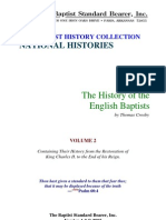 Crosby - History of the English Baptists Vol 2
