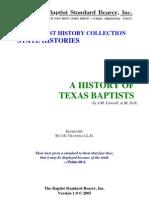Carroll - A History of Texas Baptists Pa - J. M. Carroll