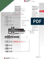 Sensores Indutivos DC 2 Fios (BR)