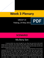 Week 3 Plenary IM