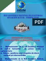 Cruz Gomez Red Geodesica Guatemala