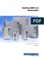 Emotron Msf2-0 Instruction Manual 01-4135-04 r2 Es