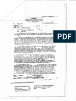 Declassified CIA File - Disposal of KIBITZ-171 (Oct 24 1952)