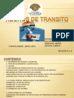 Diapositivas de Medicina Legal Hechos de Transito Definitiva