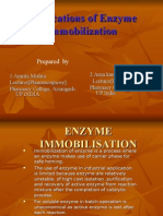 Applications of Enzyme Immobilization Ppt