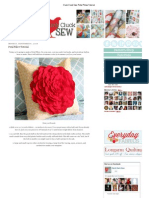 Cluck Cluck Sew_ Petal Pillow Tutorial