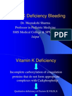 Vit K Deficiency Bleeding