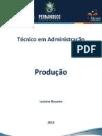 Caderno Administração (Produção) RDDI
