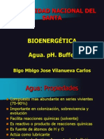 Agua. pH. Buffers