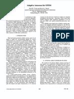 Adaptive Antennas for OFDM