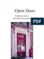 Harvard Crimson Financial Aid