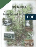 Plano de Manejo Do Parque Estadual Serra Do Conduru