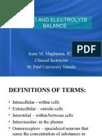 Fluid and Electrolytes Burns G.U. 2