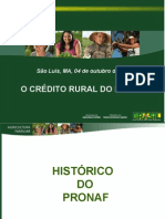 1 Credito Rural Do Pronaf