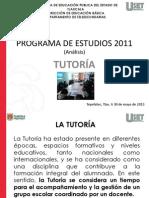 PROGRAMA DE ESTUDIOS 2011 Tutoría