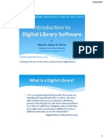 Introduction to digital library software