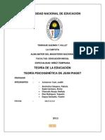 Monografia de Teoria PIAGET