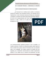 La influencia de la revolución Francesa  y Americana
