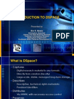 Introduction to DSpace