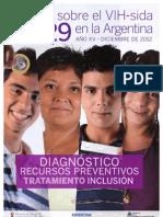 Boletin Epidemiologico 2012 HIV