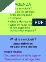 Symbiosis and Homeostasis