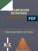 Implantacion Estrategia Bsc