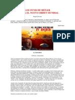 1993 Los Ovnis de Hitler Contra El Nuevo Orden Mundial