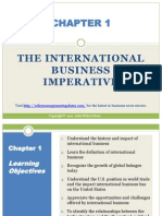 The international business imperative