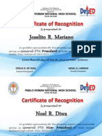 Certificate Sa Ptca Officer Revise New Ulit