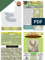 """Boletín Semanal """"El Conquistador"""" 26 de Abril del 2009"""