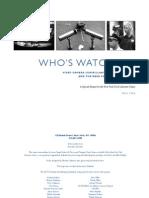 Surveillance Cams Report 121306